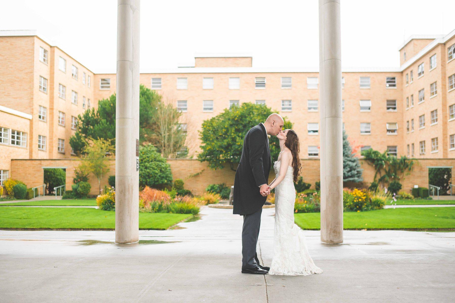 Wedding near Seattle, WA